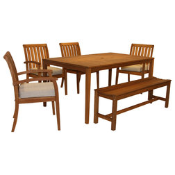 Elegant Contemporary Outdoor Dining Sets by Outdoor Interiors