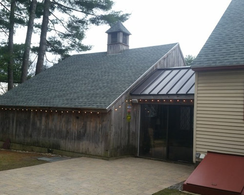 Farmhouse Asphalt Shingle Amp Standing Seam Metal Roof