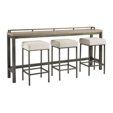 Mitchell Console With Stools