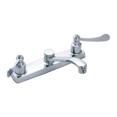 Banner Wristblade Handle Kitchen Faucet, Chrome