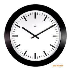 """26"""" Magnum Wall Clock Swiss Railway"""
