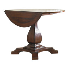 Hooker Furniture - Waverly Place Round Drop Leaf Pedestal Table - Side Tables and End Tables