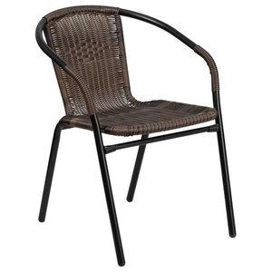 Super Crosley Palm Harbor Outdoor Wicker Stackable Chairs Set Of Creativecarmelina Interior Chair Design Creativecarmelinacom