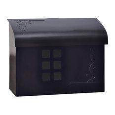 Ecco E7 Mailbox Black Pewter Mailbo