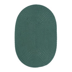 Colonial Mills, Inc - Colonial Mills Boca Raton Myrtle Green Rug, 12x12 - Outdoor Rugs
