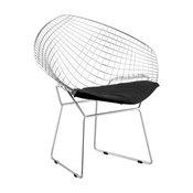 Net Dining Chair, Black, Set of 2