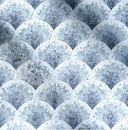 Shell Pattern Mosaic - Tile