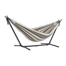 Vivere's Combo, Double Desert Moon Hammock With Stand, 9'