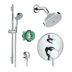 "Hansgrohe Raindance Shower Faucet Kit, 7""x8""x7"""