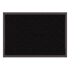 Clean Keeper Doormat, Black, Medium