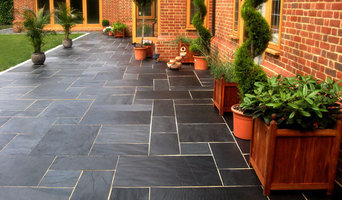 Blue-Black Slate Paving