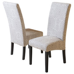 Mediterranean Dining Chairs by GDFStudio