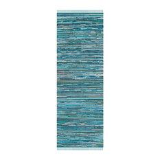 Long Elena Runner, Blue, 68x213 cm