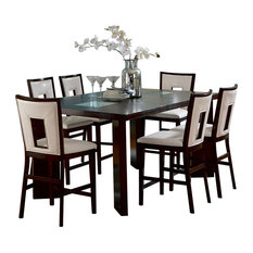 Steve Silver Company   Steve Silver Delano 7 Piece Counter Height Set With  Leaf