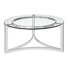 Modway Signet Stainless Steel Coffee Table