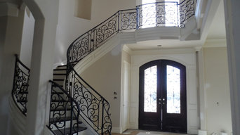 Wrought Iron Interior Stair Rails