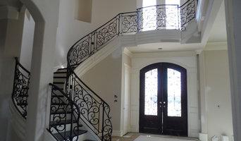 Wrought Iron Interior Stair Rails