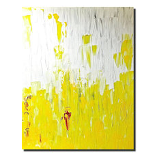Yellow Line, Wall Art by Poonam Choudhary