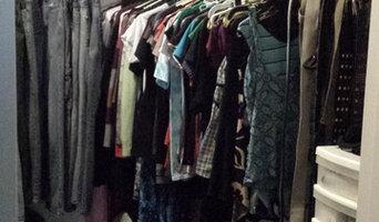 Closet declutter