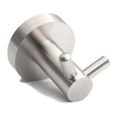 qt home decor qt premium modern double coat hook wall hooks - Retractable Coat Hook