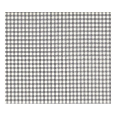 """18"""" Queen Bedskirt Tailored Brindle Gray Gingham Check"""
