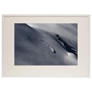 """Backwards"" Photographic Print by Camilla Stoddart, White Frame, 85X50 cm"