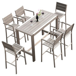 Contemporary Outdoor Dining Sets by MangoHome