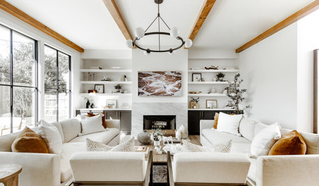 Houzz Tour: A New Build is Warmed Up With Rustic Touches