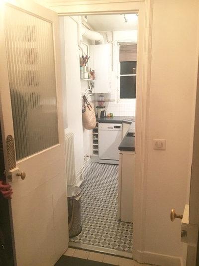 Vorher-Nachher: Makeover einer fünf Quadratmeter kleinen Küche
