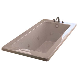 Venzi Villa 36 x 60 Rectangular Air & Whirlpool Jetted Bathtub By Atlantis