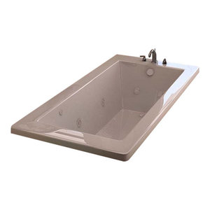 Venzi Villa 36 x 72 Rectangular Whirlpool Jetted Bathtub By Atlantis