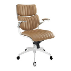 Modway Escape Mid Back Office Chair EEI-1028-TAN