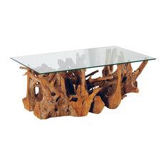 - ROOTABA COFFEE TABLE RECT120 - コーヒーテーブル&ローテーブル