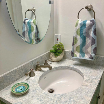 Rockport Residence, first floor guest bath