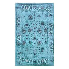 NuLOOM   NuLOOM Jizah Rug, Turquoise, 8u0027x10u0027   Area Rugs