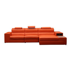Vig Furniture Inc.   Polaris Bonded Leather Sectional Sofa   Sectional Sofas