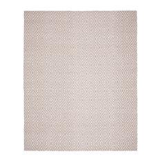 Safavieh Montauk Flatweave Rug, Gray/Ivory, 10'x14'