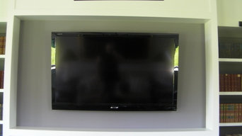 Flat Panels on Wall