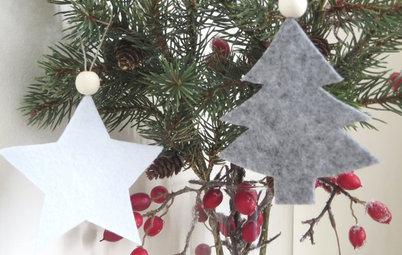 DIY : Fabriquez des ornements de sapin de Noël en feutrine