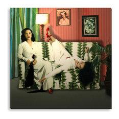 Peggy Weiss' 'Good Wanda Bad Wanda' Canvas Gallery Wrap