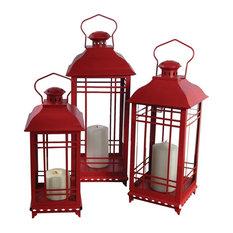 California Bay Mission Lanterns, Set of 3