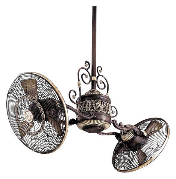 Twin star ii dual motor ceiling fan ceiling fan ideas traditional gyro twin ceiling fan ideas aloadofball Images