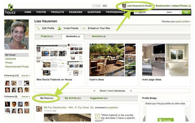New Social Features on Houzz