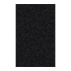 Collection hand woven elegant and soft Shag Rug 4'x6' - black