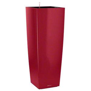 Cubico Alto Self Watering Planter, 105x40x40 CM, Red