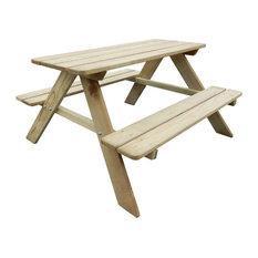 vidaXL Kid's Picnic Table, 89x89.6x50.8 cm