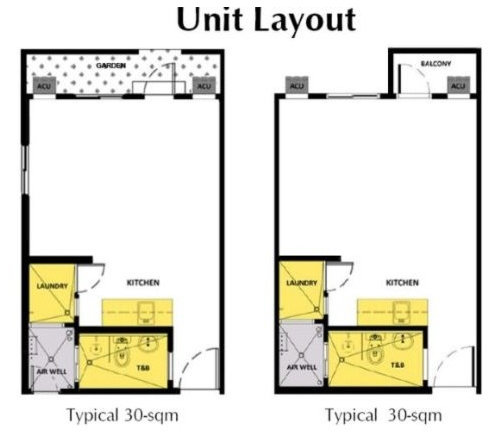 Is It Possible To Have 2 Bedrooms For A 30 Sq Meters Condo
