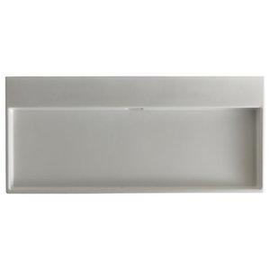 "WS Bath Collections Urban 100 Urban 39-9/16"" Vessel or Wall Mounted Bathroom Si"