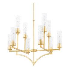 Capital Lighting Regan Capital Gold 10-Light Chandelier