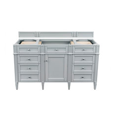 "Brittany 60"" Urban Gray Single Vanity"